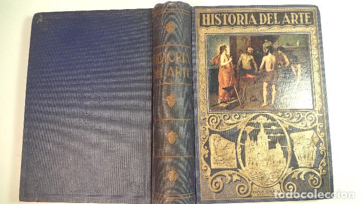 HISTORIA DEL ARTE-J.F.RAFOLS-RAMOSN SOPENA-1942 (Libros de Segunda Mano - Historia - Otros)