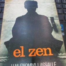 Libros de segunda mano: EL ZEN H. M. ENOMIYA LASSALLE EDIT MENSAJERO AÑO 1974. Lote 68230689