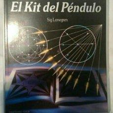 Libros de segunda mano: LIBRO EL KIT DEL PENDULO. SIG LEGREN. Lote 68313381