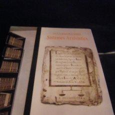 Libros de segunda mano: TAULA RODONA SOBRE SISTEMES ARXIVISTICS EN VALENCIANO Y OTRA PARTE CASTELLANO SISTEMAS DE ARCHIVOS. Lote 68392885