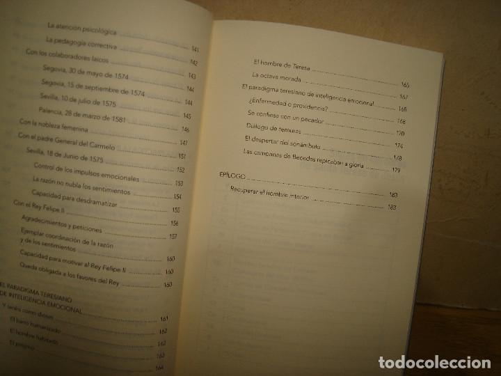 Libros de segunda mano: teresa de jesús, inteligencia emocional - jesús barrena sánchez - Foto 5 - 68473773