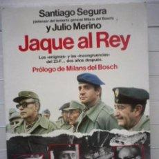 Libros de segunda mano: SANTIAGO SEGURA Y JULIO MERINO - JAQUE AL REY - EDITORIAL PLANETA - ENVÍO ORDINARIO X SÓLO 1 €. Lote 68502473