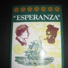 Libros de segunda mano: ESPERANZA. SVEN DELBLANC. ARGOS-VERGARA 1983. Lote 68685957