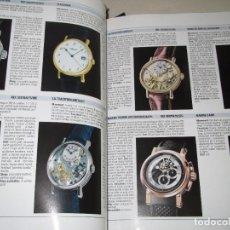 Libros de segunda mano: WATCHES INTERNATIONAL VIII DE TOURBILLON 600 PÁGINAS CON CIENTOS DE RELOJES DE LUJO - AÑO 2007. Lote 68741473
