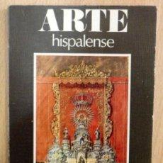 Libros de segunda mano: ARTE HISPALENSE, JUAN LAUREANO DE PINA, MARIA JESUS SANZ,182 PAGINAS. Lote 68828153