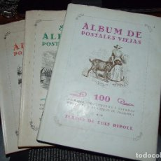 Libros de segunda mano: ALBUM DE POSTALES VIEJAS TRES TOMOS 1 , 2 Y 3 - LUIS RIPOLL - IMP. MOSSEN ALCOVER 1970. Lote 68833921