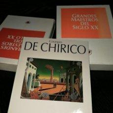 Libros de segunda mano: GIORGIO DE CHIRICO, EDICIONES POLÍGRAFA. Lote 68925985