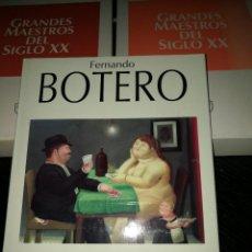 Libros de segunda mano: FERNANDO BOTERO, EDICIONES POLÍGRAFA. Lote 68928033