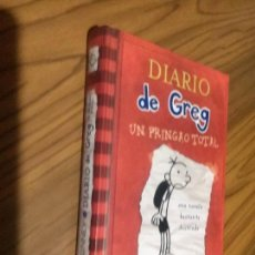 Libros de segunda mano: DIARIO DE GREG. UN PRINGAO TOTAL. MOLINO. JEFF KINNEY. BUEN ESTADO. TAPA DURA. Lote 68950417