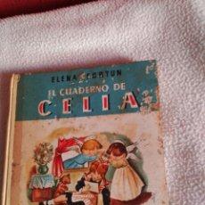 Libros de segunda mano: ELENA FORTUN EL CUADERNO DE CELIA AGUILAR 1961. Lote 69061145