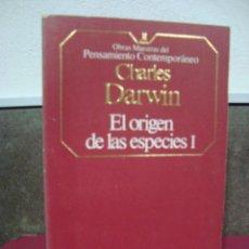 Libros de segunda mano: DARWIN CHARLES, EL ORIGEN DE LAS ESPECIES TOMO I Y II , PLANETA AGOSTINI 1985.. Lote 69237589