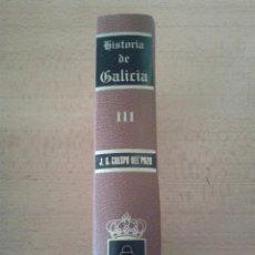 Libros de segunda mano: HISTORIA DE GALICIA -- BLASONES Y LINAJES DE GALICIA -- TOMO III -- PADRE CRESPO --. Lote 69280721