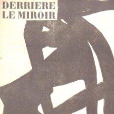 Libros de segunda mano: CHILLIDA : DERRIÈRE LE MIROIR Nº 90-91 (MAEGHT, 1956) PRUEBA DE LA IMPRENTA. Lote 72991643
