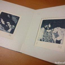 Libros de segunda mano: 164 PERFILS DE CADAQUÉS VÍCTOR RAHOLA QUATRE GRAVATS GRAVADOS JOAN CARLES ROCA SANS EDICIÓ . Lote 69532685