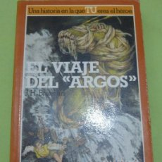 Libros de segunda mano: LA BÚSQUEDA DEL GRIAL Nº 4 - EL VIAJE DEL ARGOS - ALTEA JUNIOR - LIBRO JUEGO -. Lote 190903801