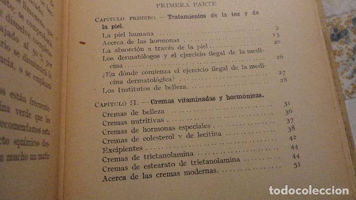 Libros de segunda mano: R.M.GATTEFOSSE.PRODUCTOS DE BELLEZA.GUSTAVO GILI.1937. - Foto 4 - 69641325