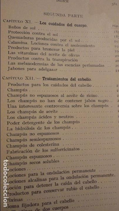 Libros de segunda mano: R.M.GATTEFOSSE.PRODUCTOS DE BELLEZA.GUSTAVO GILI.1937. - Foto 6 - 69641325