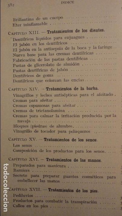 Libros de segunda mano: R.M.GATTEFOSSE.PRODUCTOS DE BELLEZA.GUSTAVO GILI.1937. - Foto 7 - 69641325