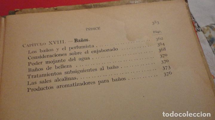 Libros de segunda mano: R.M.GATTEFOSSE.PRODUCTOS DE BELLEZA.GUSTAVO GILI.1937. - Foto 8 - 69641325