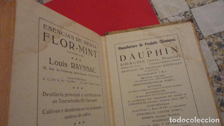 Libros de segunda mano: R.M.GATTEFOSSE.PRODUCTOS DE BELLEZA.GUSTAVO GILI.1937. - Foto 9 - 69641325