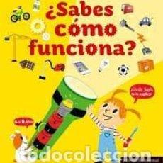 Libros de segunda mano: ¿SABES CÓMO FUNCIONA? - JUGLA, CÉCILE. Lote 69815969
