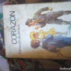 Libros de segunda mano: CORAZÓN. EDMUNDO D'AMICIS. Lote 69836477