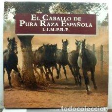 Libros de segunda mano: EL CABALLO DE PURA RAZA ESPAÑOLA. L.I.M.P.R.E. A-CAB-071. Lote 69874297