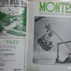 Libros de segunda mano: REVISTA MONTES 1950-1968. Lote 67960633