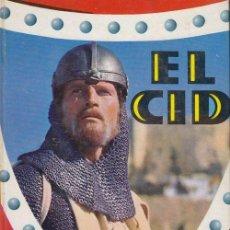 Libros de segunda mano: EL CID CHARLTON HESTON LIBRO COLECCION CINEFA EDITORIAL FELICIDAD Nº 4. Lote 70005693