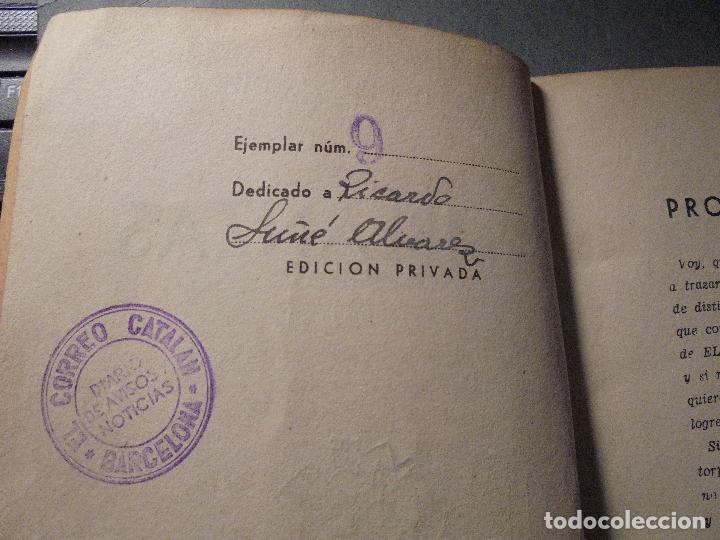 Libros de segunda mano: PERIODISMO - EVELIO BRULL - J. SOLER - SEMBLANZAS EJEM. Nº 9 NOMINAL A RICARDO SUÑÉ ALVAREZ , AUTOGR - Foto 2 - 70024293