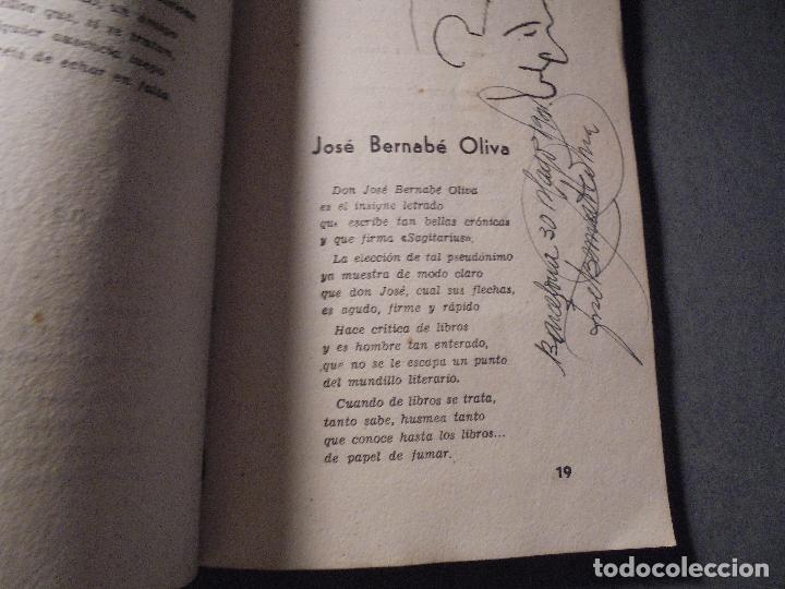Libros de segunda mano: PERIODISMO - EVELIO BRULL - J. SOLER - SEMBLANZAS EJEM. Nº 9 NOMINAL A RICARDO SUÑÉ ALVAREZ , AUTOGR - Foto 4 - 70024293