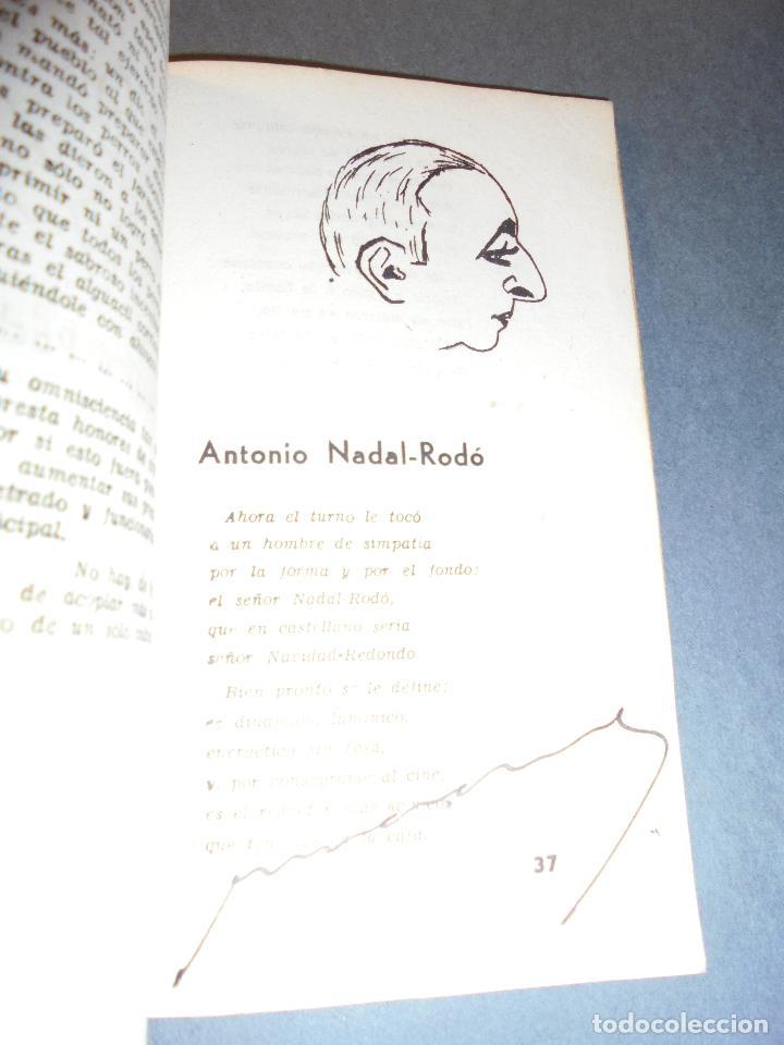 Libros de segunda mano: PERIODISMO - EVELIO BRULL - J. SOLER - SEMBLANZAS EJEM. Nº 9 NOMINAL A RICARDO SUÑÉ ALVAREZ , AUTOGR - Foto 9 - 70024293