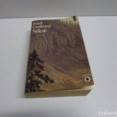 Libros de segunda mano: PAUL GADENNE SILOE, FIRMADO POR ALBERT RAFOLS CASAMADA. Lote 70050009