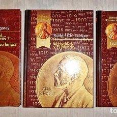 Libros de segunda mano: 3 LIBROS PREMIOS NOBEL. Lote 70174453
