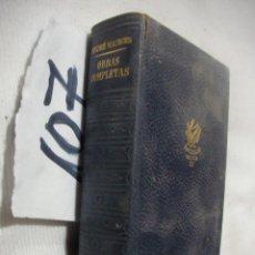 Libros de segunda mano: OBRAS COMPLETAS DE ANDRE MAUROIS. Lote 70244317