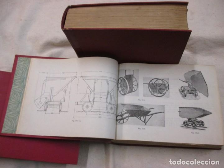 Libros de segunda mano: APUNTES DE MAQUINARIA AUXILIAR DE OBRAS - JOSÉ JUAN ARACIL SEGURA. ESC INGENIEROS CAMINO 1959/60 + - Foto 2 - 70284821