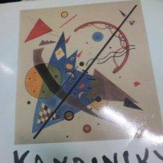 Libros de segunda mano: ACUARELAS KANDINSKY COLECCION DEL MUSEO SOLOMAN R. GUGGENHEIM Y LA FUNDACION HILLA VON REBAY 1991. Lote 70289949