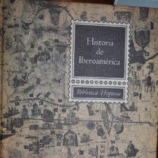 Libros de segunda mano: HISTORIA DE IBEROAMERICA. 1968. AUTOR: MANUEL RODRIGEZ LAPUENTE. Lote 70328565