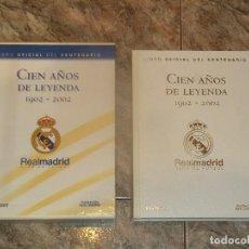 Libros de segunda mano: CIEN AÑOS DE LEYENDA 1902-2002 EDICION DE LUJO, DESCATALOGADO. Lote 70336105