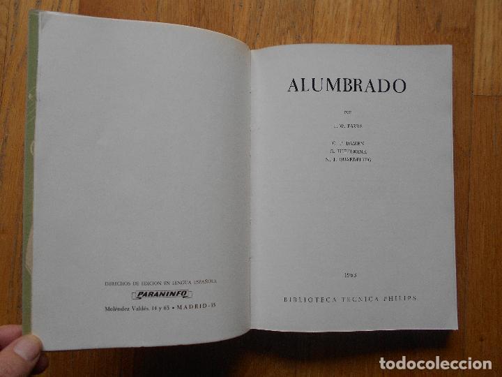 Libros de segunda mano: ALUMBRADO, Varios Autores, Biblioteca Tecnica Philips - Foto 3 - 70361889