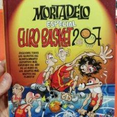 Libros de segunda mano: LIBRO DE MORTADELO EUROBASKET 2007 EDICION TAPA DURA). Lote 70419489