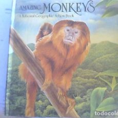 Libros de segunda mano: AMAZING MONKEYS - NATIONAL GEOGRAPHIC ACTION BOOK. Lote 70424297
