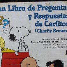 Libros de segunda mano: GRAN LIBRO DE PREGUNTAS Y RESPUESTAS CARLITOS NÚMERO 1. Lote 70437857