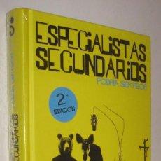 Libros de segunda mano: ESPECIALISTAS SECUNDARIOS PODRIA SER PEOR - INCLUYE CD *. Lote 70474489