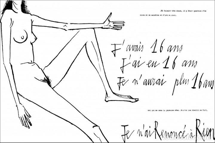 Libros de segunda mano: 3754.- TOXIQUE- FRANÇOISE SAGAN-ILUSTRA BERNARD BUFFET-EDITORIAL RENE JULIARD 1964 - Foto 3 - 70556285