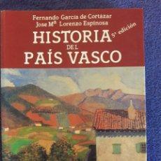 Libros de segunda mano: HISTORIA DEL PAÍS VASCO / FERNANDO GARCÍA DE CORTÁZAR Y JOSÉ Mª LORENZO ESPINOSA / EDIT. TXERTOA / 5. Lote 70654501