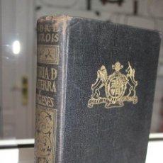 Libros de segunda mano: HISTORIA DE INGLATERRA Y LOS INGLESES, ANDRE MAUROIS. EDITORIAL SURCO 1949. Lote 71035053