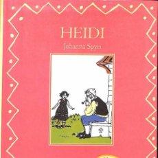 Libros de segunda mano: HEIDI JOHANNA SPYRI. Lote 71194553