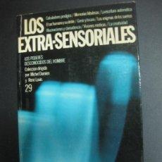 Libros de segunda mano: LOS EXTRA-SENSORIALES. LOS PODERES DESCONOCIDOS DEL HOMBRE. MICHEL DAMIEN. RENE LOUIS. 1977.. Lote 71238131