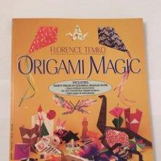Libros de segunda mano: LIBRO. ORIGAMI MAGIC. APRENDER PAPIROFLEXIA. INCLUYE PAPEL PARA HACER FIGURAS. SCHOLASTIC. Lote 71258891